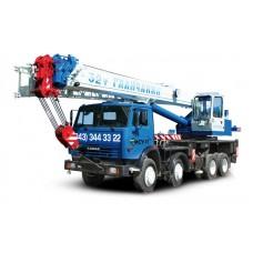 Автокран 32 тонны Галичанин