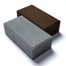 Плитка тротуарная «Брусчатка» 200х100х40 мм