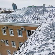 Разовая очистка кровли от снега