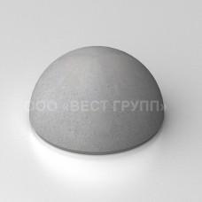 Полусфера бетонная ПСФ-1 серая