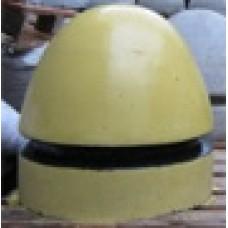 Полусфера бетонная крашеная ПБВ-490К