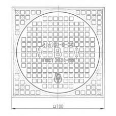 Люк чугунный легкий Л (А15)-В.8-60